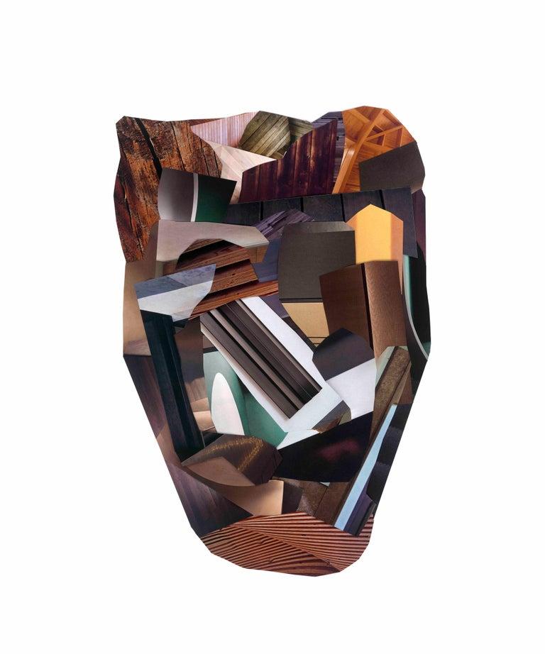 Dubuffet's Way - Mixed Media Art by Gysin Broukwen