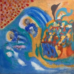 French Contemporary Art by Aly Cairo inspired by Egypt - Exile