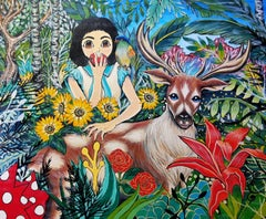 Korean Contemporary Art - Fantasy Jejuisland - Island Girl Story