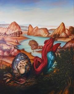 Cuban Contemporary Art by Carlos Sablon Perez - La Naissance de L'Aigle