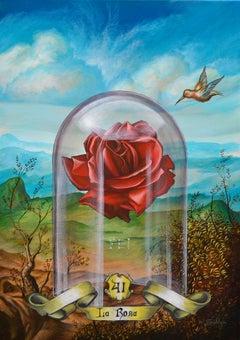 Cuban Contemporary Art by Carlos Sablon Perez - La Rose