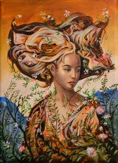 Cuban Contemporary Art by Carlos Sablon Perez - Flora