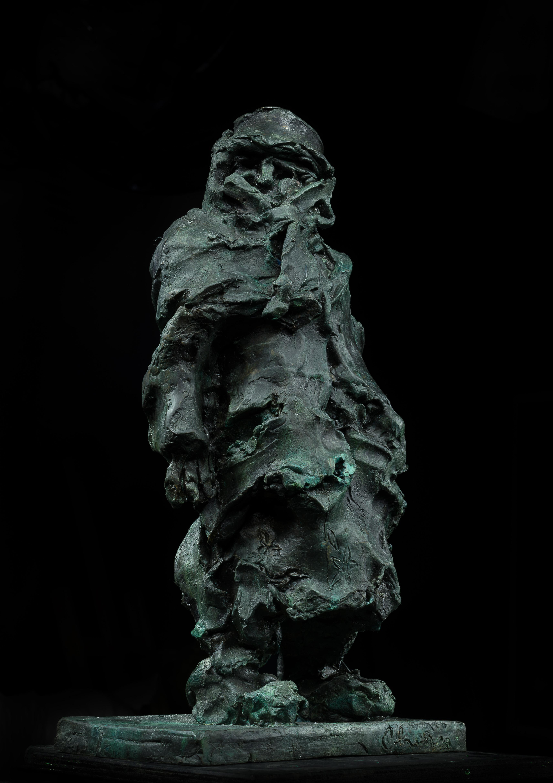 Russian Contemporary Sculpture by Alexander Sviyazov - Granny Shura