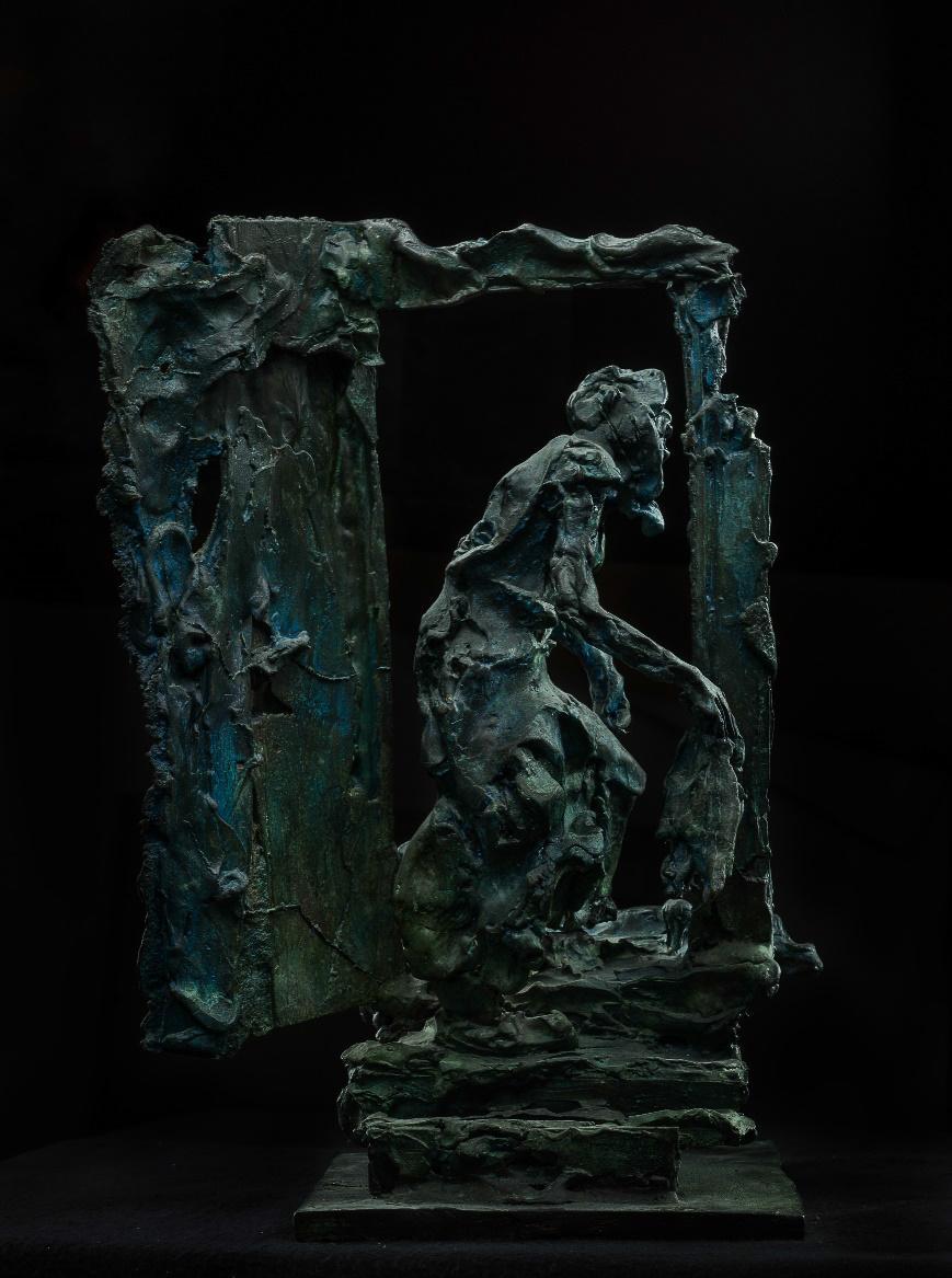 Russian Contemporary Sculpture by Alexander Sviyazov - Doorstep seni