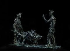 Russian Contemporary Sculpture by Alexander Sviyazov - Selfie on smartphone