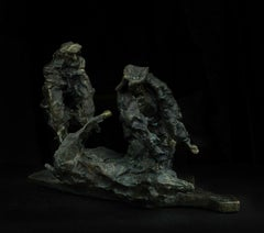 Russian Contemporary Sculpture by Alexander Sviyazov - October Piggy