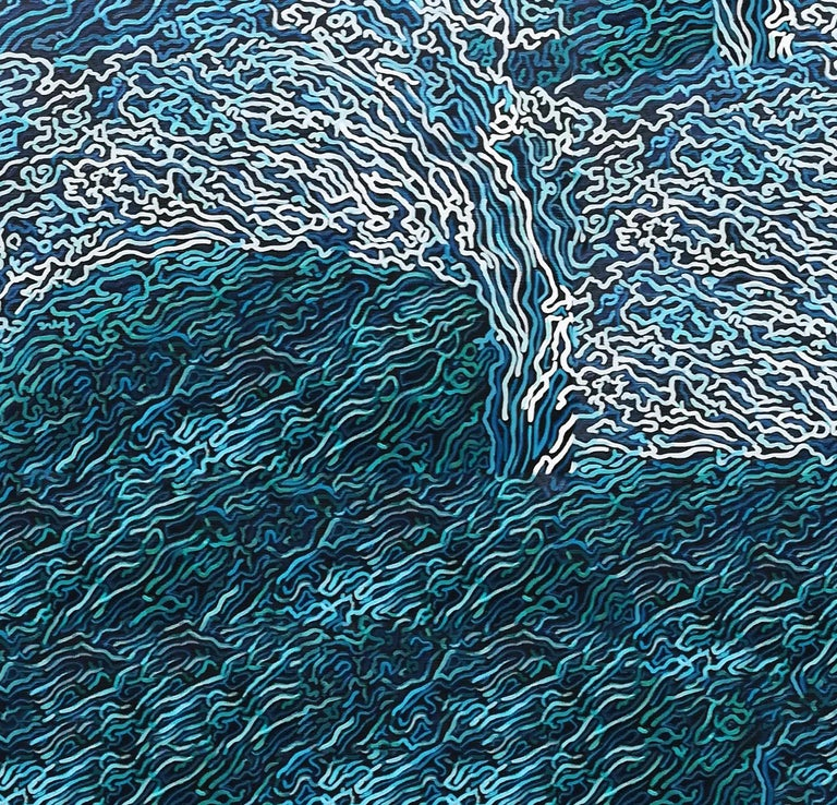 SYMPHONY OF THE OCEAN - Painting by Diana Torje