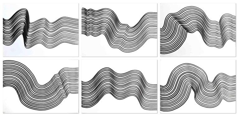 Sumit Mehndiratta Abstract Print - Composition No.124