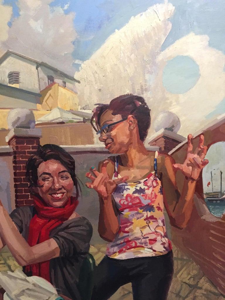 Lingua Franca - Contemporary Painting by Benjamin Duke