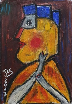 French Contemporary Drawing by Jean-Louis Salvadori - Untitled