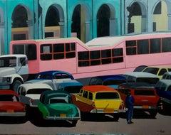 French Contemporary Art by Anne du Planty - La Havane Bus