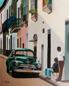 French Contemporary Art by Anne du Planty - La Havane Tranquille