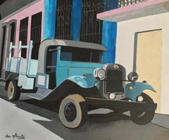 French Contemporary Art by Anne du Planty - Le Camion Bleu