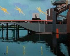 French Contemporary Art by Anne du Planty - Les Bords de Loire II