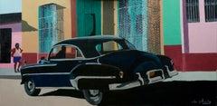French Contemporary Art by Anne du Planty - Black Trinidad