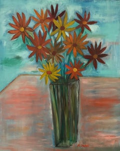 French Contemporary Art by Abraham Dayan - Les Marguerites