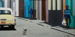 French Contemporary Art by Anne du Planty - La Havane, Le Chien