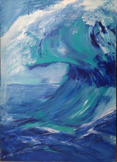 French Contemporary Art by Brigitte Mathé - The Wave