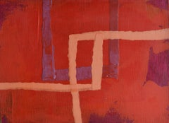 French Contemporary Abstract Art by J.-L. Veret - Respite
