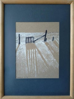 Armenian Contemporary Art by Kamsar Ohanyan - Shadow Of Snow