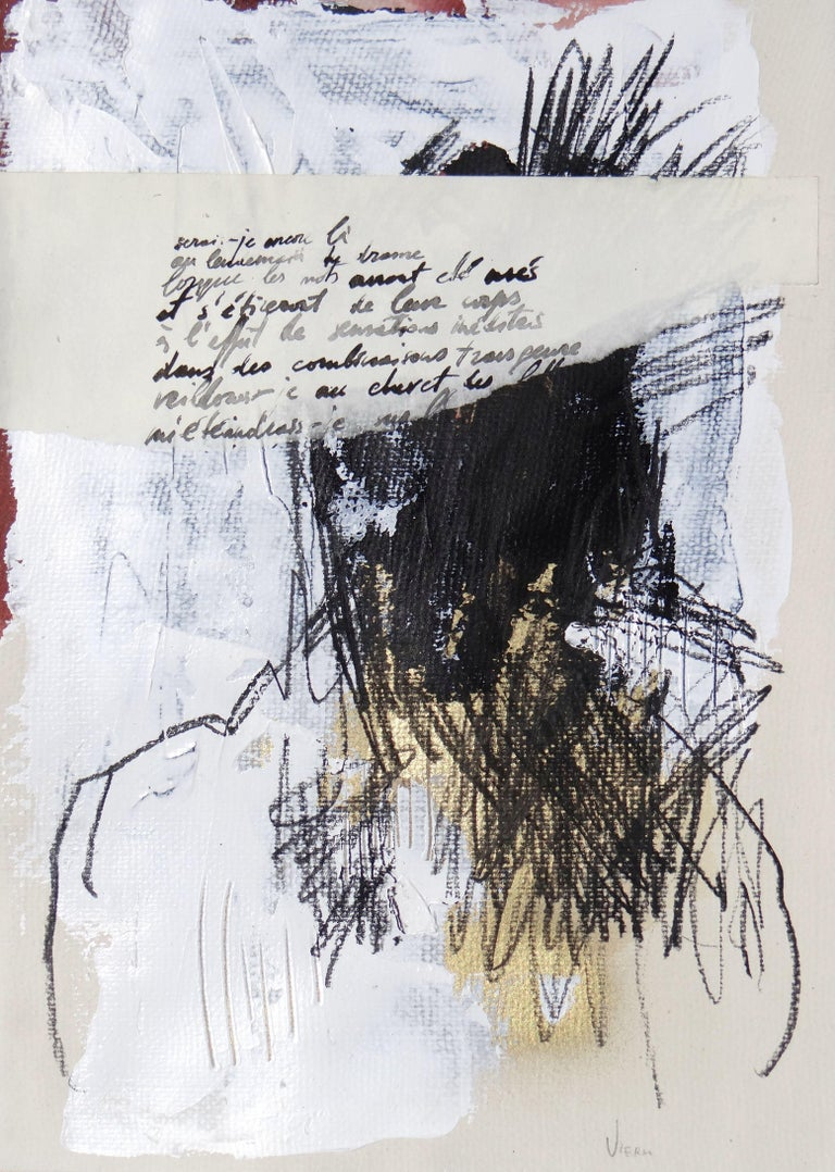 Doïna Vieru Abstract Drawing - Untitled