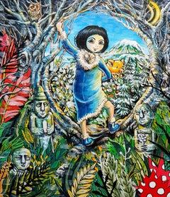 Fantasy Jeju Island-Chun-Ja Self-Portrait