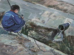 Chinese Contemporary Art by Su Yu - Confrontation