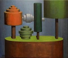 Italian Contemporary Art by Andrea Vandoni - Cylindrism 3