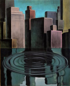 Italian Contemporary Art by Andrea Vandoni - American Waterscape