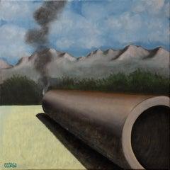 Italian Contemporary Art by Andrea Vandoni - The Last Puff Of Smoke