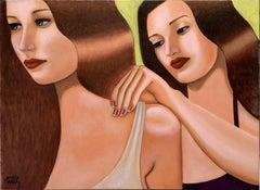Italian Contemporary Art by Andrea Vandoni - Le Amiche, 2