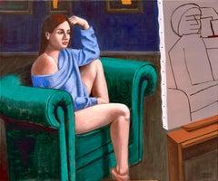 Italian Contemporary Art by Andrea Vandoni - Modern Portrait