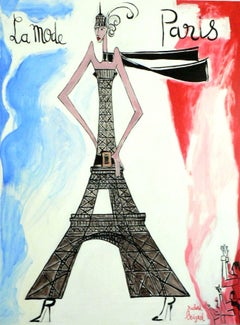 French Contemporary Art by Richard Boigeol - La Mode Paris
