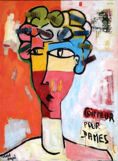 French Contemporary Art by Richard Boigeol - Coiffeur pour Dames