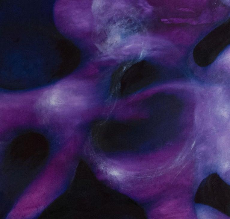 Purple - Painting by Dejan Bogdanovic