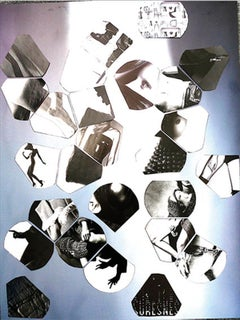 Noir/ Blanc Meta Graphic 03