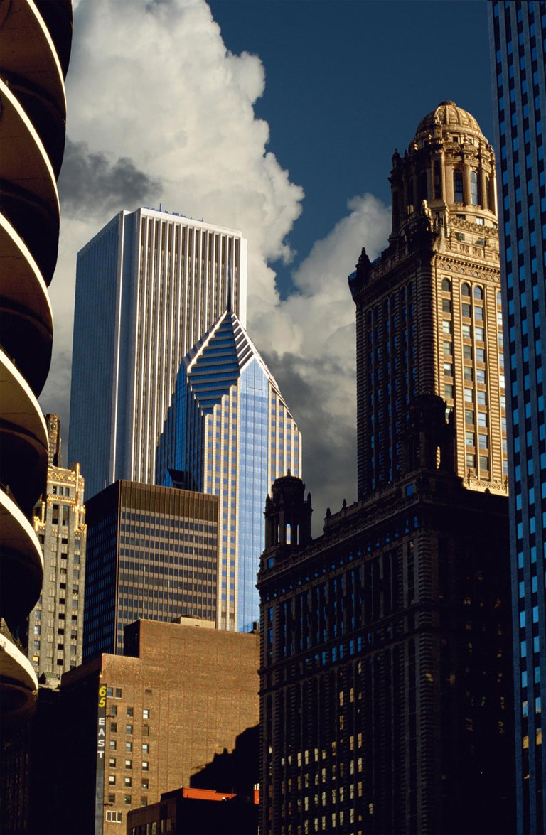Michael K. Yamaoka  Color Photograph - Chicago, Old and New