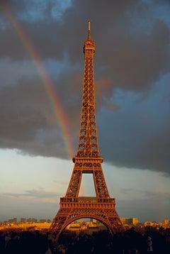 Rainbow at the Eiffel Tower