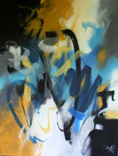 French Abstract Contemporary Art by MABRIS - Sans l'Ombre d'un Doute