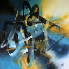 French Abstract Contemporary Art by MABRIS - Fantasme Engourdi