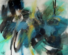 French Abstract Contemporary Art by MABRIS - Confidence du Lotus