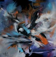 French Abstract Contemporary Art by MABRIS - Insomnie