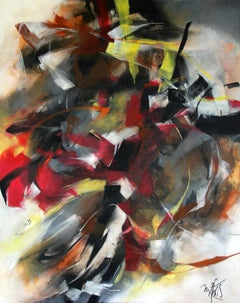 French Abstract Contemporary Art by MABRIS - Le Bruit du Silence