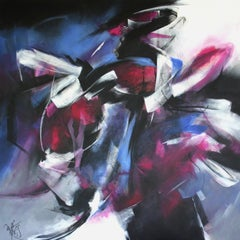 French Abstract Contemporary Art by MABRIS - Stratégie de L'Obscur
