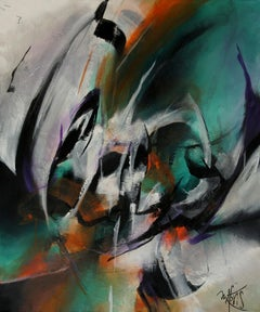 French Abstract Contemporary Art by MABRIS - Fulgurance