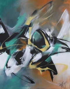 French Abstract Contemporary Art by MABRIS - A Hue and A Dia