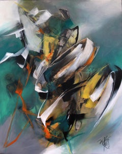 French Abstract Contemporary Art by MABRIS - Rythmes