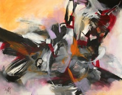 French Abstract Contemporary Art by MABRIS - Allégorie