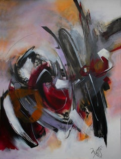 French Abstract Contemporary Art by MABRIS - Mystère