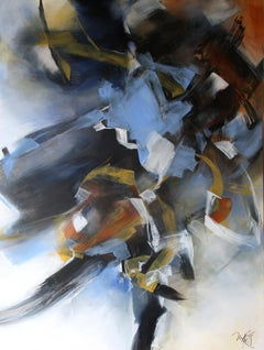 French Abstract Contemporary Art by MABRIS - Corps et Désaccords